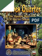 Thieves' Quarter. a City Quarters Sourcebook