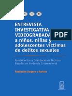Entrevista Investigativa Videograbada Faj