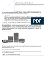 Cisco Nexus 9500 Platform Switches Data Sheet