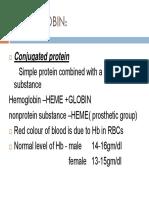 Hemoglobin Chemistry