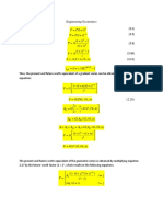 Engineering Economics cheat sheet