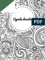 Agenda Docente Editable