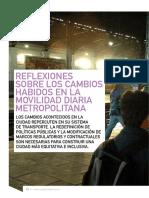Cambios en La Movilidad de Buenos Aires