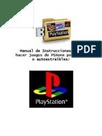 Manual de Instrucciones para hacer juegos de PSXone portables o autoextraíbles