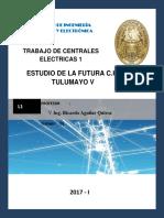 Trabajo Mini Central Electrica 1200 Kw
