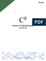 Csharp 3.0 Specification