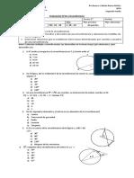 Circunferencia Fila B