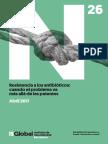 Informe Resistencia Antimicrobiana ES