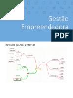 Gestão Empreendedora - Aula 4 - Fiec 2018/1