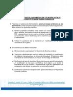 4. Requisitos Ampliacion o Modificacion de Bases Constitutivas de Iglesias Evangelicas