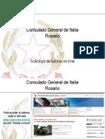 Manual ingreso solicitar turno pasaporte rosario