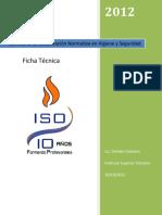 ISO Seminario Ficha Tecnica