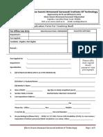 Application Form Advt Dt 29-03-2018 Teaching Staff