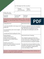 tws lesson plan 2-2