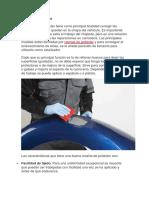 Masilla de Peroxido y Plastica