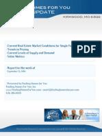 Kirkwood MO Real Estate Trends and Statistics