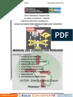 Manual Del Conductor de Tracto Camion