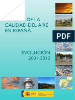 Analisis Calidad Aire Espana 2001 2012 Tcm7 311112