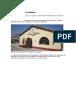 Artesanía Ayacuchana