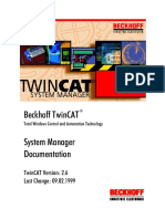 TwinCAT System Manager Manual