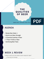 Week 11 - Qualities of Beer - Shires