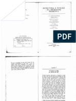 A. Radcliffe Brown - Estrutura e Função Na Sociedade Primitiva