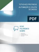 Totvs Acd Protheus Automação e Coleta de Dados v2