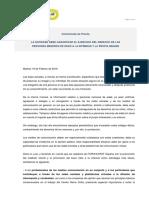 Comunicado de Prensa Fapmi