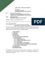 Informe Tecnico Linea Nivel