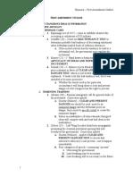 FirstAmendment Outline