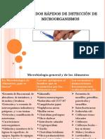 Métodos Rápidos de Detección de Microorganismos