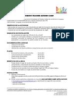 2018 AUTUMN CAMP CFE Villa Serrana +Info