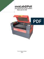 Instruções de Uso Cortadora Laser Oficina