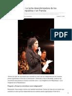 Indigenes-republique.fr-houria Bouteldja La Lucha Descolonizadora de Los Indígenas de La República en Francia
