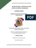 Educación a Distancia y Su Impacto en El Sistema Educativo Boliviano