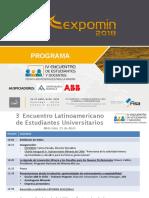 Programa · Encuentro Latinoamericano de Estudiantes Universitarios[1][1][1]
