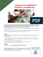 Actualizacion Fragilidad Atencion Primaria Martin