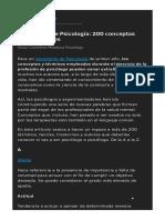 Diccionario de Psicología _ 200 Conceptos Fundamentales
