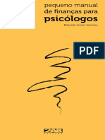 PEQUENO MANUAL DE FINANÇAS PARA PSICOLOGO