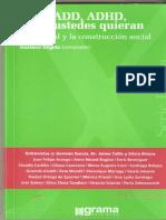 DDA,ADD,ADHD,como ustedes quieran. Gustavo Stiglitz.pdf