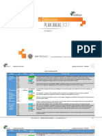 Planificacion Anual Lenguaje y Comunicacion 4Basico 2017