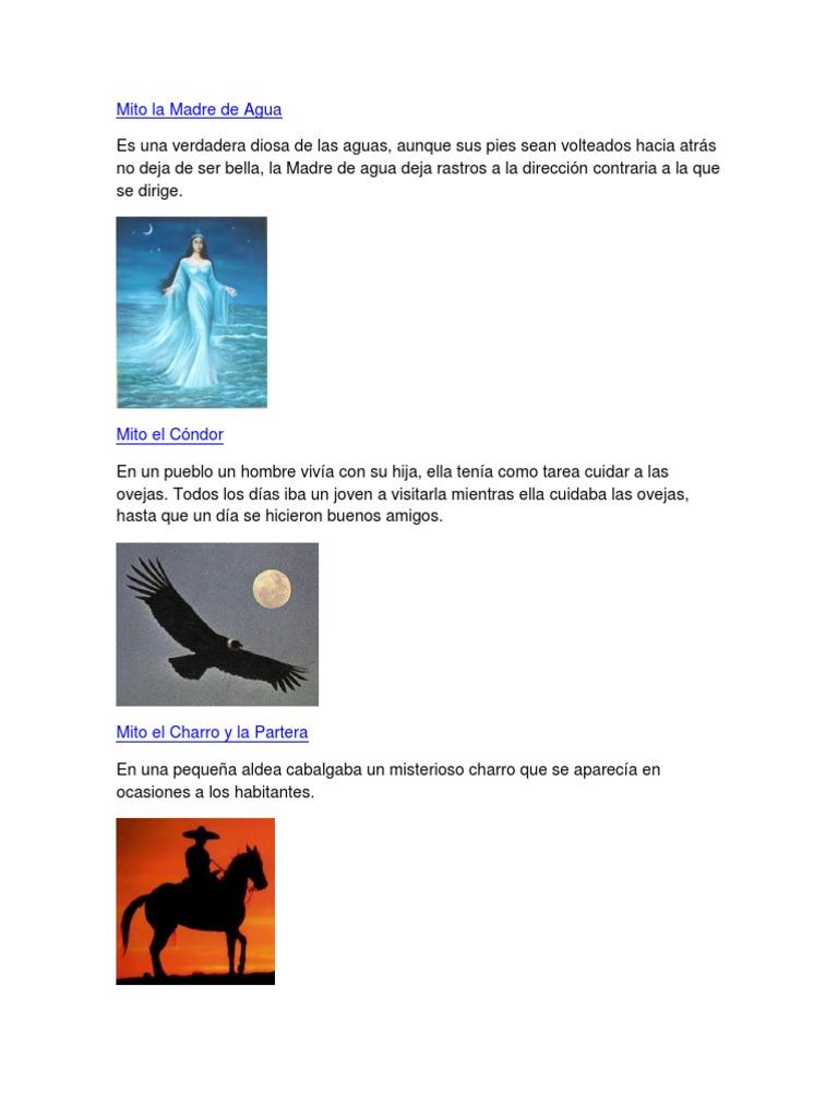 3 Mitos Cortos Con Imagenes