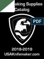 USAknifemaker Catalog 2018-2019 Web