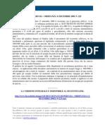 Fisco e Diritto - Giudice Di Pace Perugia n 225 2009