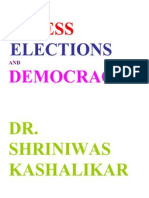 Stress Elections and Democracy Dr. Shriniwas Kashalikar (1)