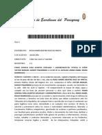 Colegio de Escribanos Del Paraguay ESCRIBANIA