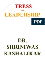 Stress and Leadership Dr Shriniwas Kashalikar (2)