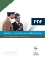 Libro Bianco - El Desarrollo de Los Líderes en Latinoamérica