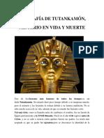 Biografía de Tutankamón