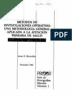 Metodos de Investigacin Operativa Pricor